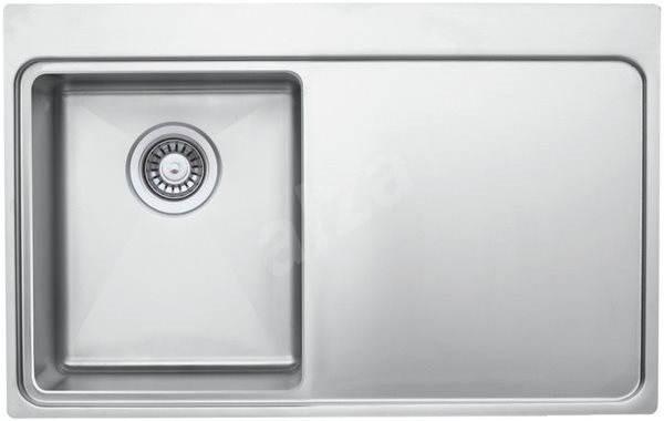 SINKS MICRO 780 V levý 1,0mm leštěný - Dřez