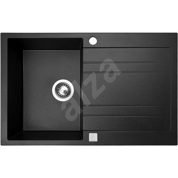 SINKS GRANDE 800 Metalblack - Granitový dřez