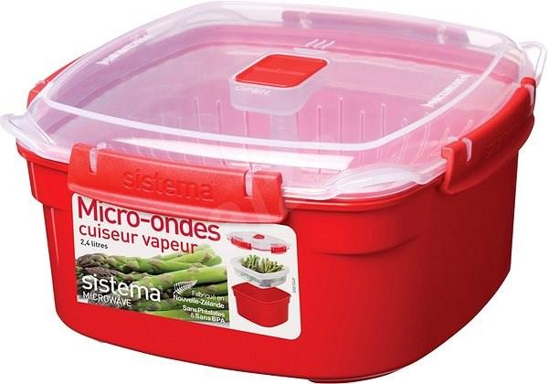 SISTEMA 2.4L Medium Microwave Steamer - Příslušenství