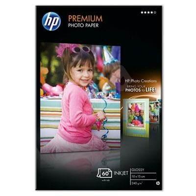 HP Premium Photo Glossy 10x15cm - Papíry