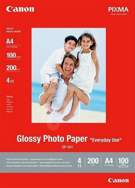 Canon GP-501 A4 Glossy - Fotopapír