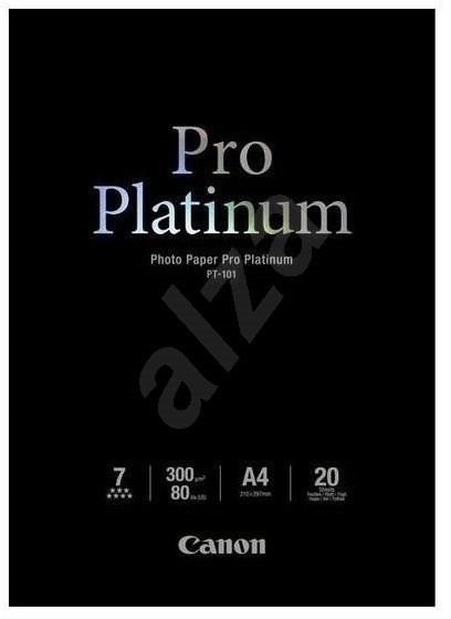 Canon PT-101 A4 Pro Platinum lesklé - Fotopapír