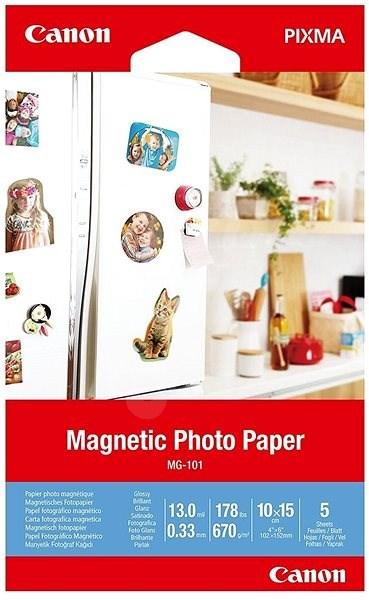 Canon Magnetic Photo Paper MG-101 - Fotopapír