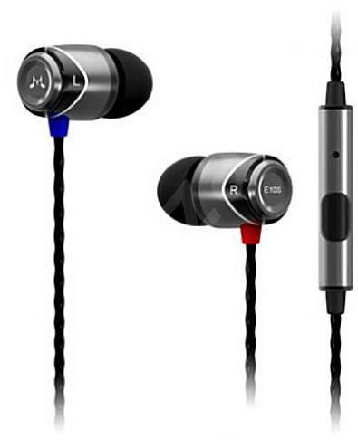 SoundMAGIC E10S černá - Sluchátka