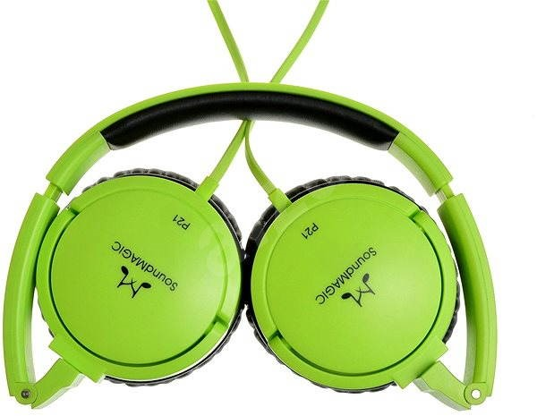 SoundMAGIC P21 zelená - Sluchátka