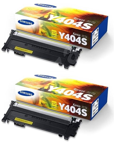 Samsung CLT-C404S žlutý 2ks - Toner