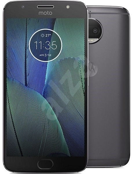 Motorola Moto G5s Plus Lunar Grey Single SIM