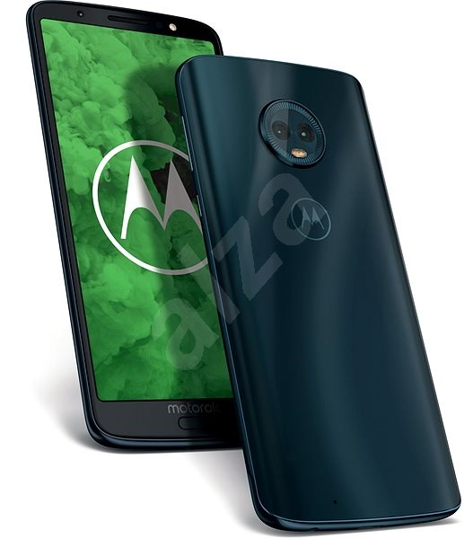 Motorola Moto G6 Plus Dual SIM Modrá - Mobilní telefon