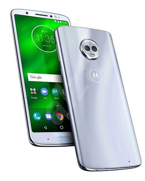 Motorola G6 Plus Single SIM světle modrá - Mobilní telefon
