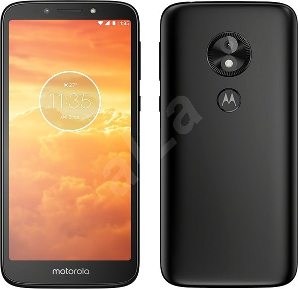 Motorola E5 Play Dual SIM černá - Mobilní telefon