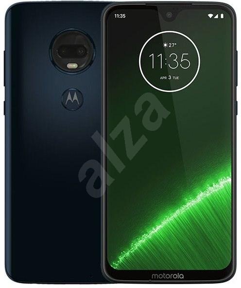 Motorola G7 Plus modrá - Mobilní telefon
