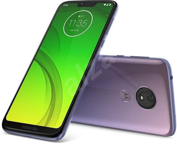 Motorola G7 Power fialová - Mobilní telefon