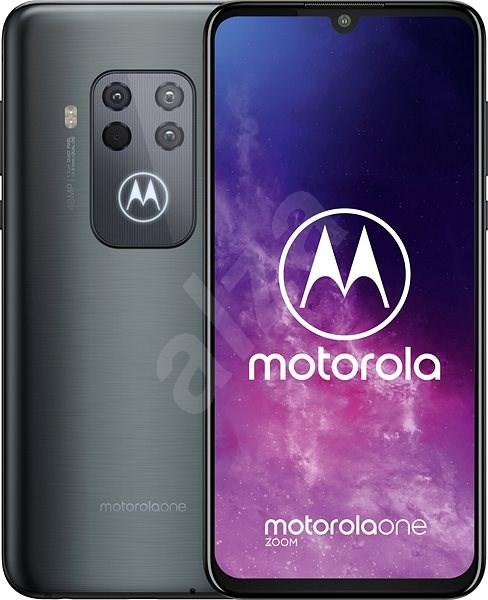 Motorola One Zoom šedá - Mobilní telefon