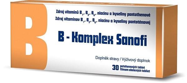 B-Komplex Sanofi 30 ks - B komplex