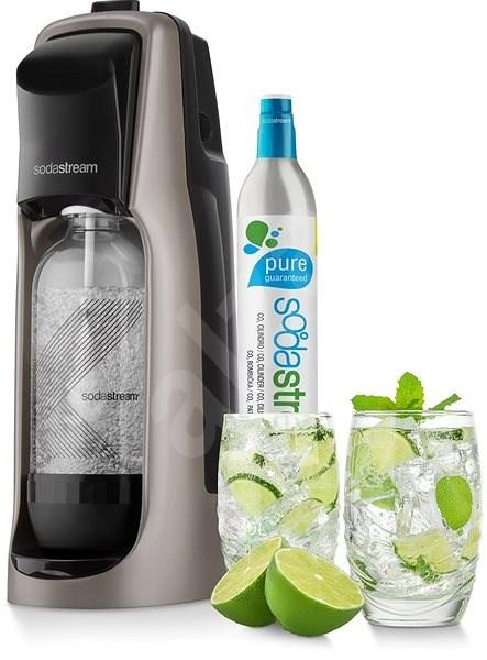 SodaStream Jet Premium titan - Výrobník sody