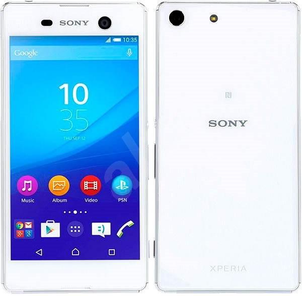 Sony Xperia M5 White - Mobilní telefon