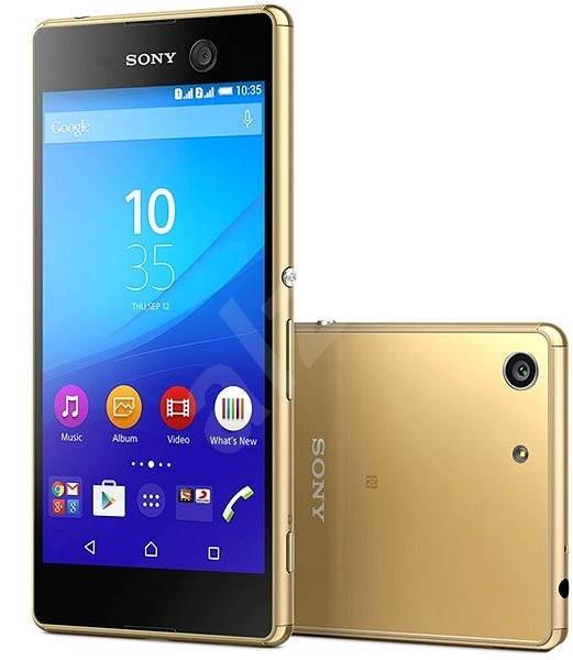 Sony Xperia M5 Gold - Mobilní telefon  fb6a40ef11b