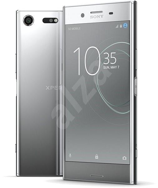 Sony Xperia XZ Premium Luminous Chrome - Mobilní telefon