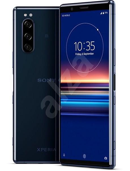 Sony Xperia 5 modrá - Mobilní telefon