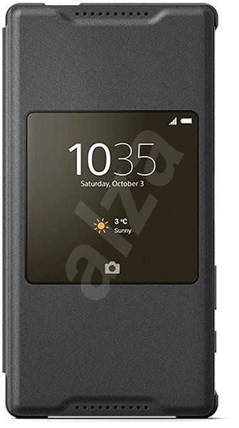 Sony flipový kryt SCR44 Smart Cover Black - Pouzdro na mobilní telefon