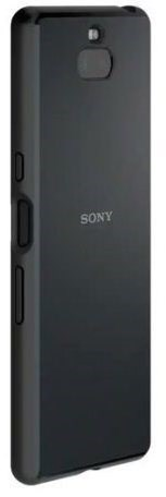Sony SCBI10 Style Solid Back Cover Xperia 10 Black - Kryt na mobil