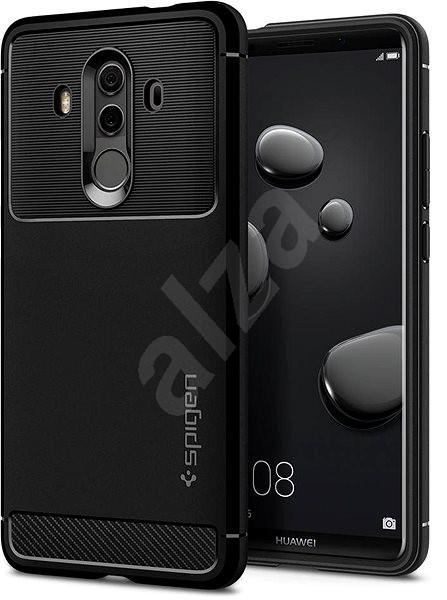 Spigen Rugged Armor Black Huawei Mate 10 Pro - Kryt na mobil
