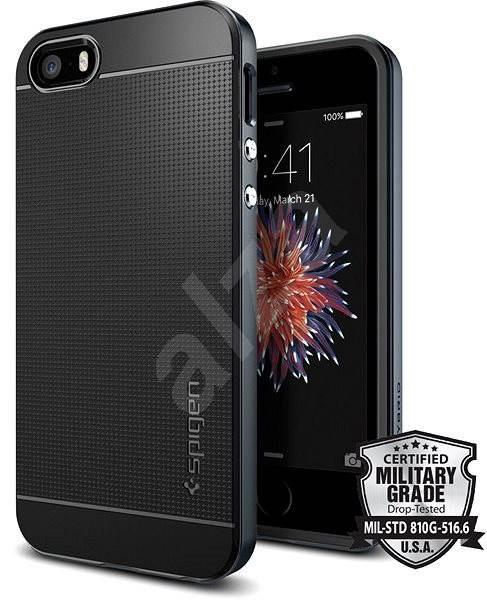 SPIGEN Neo Hybrid Metal Slate iPhone SE/5s/5 - Kryt na mobil
