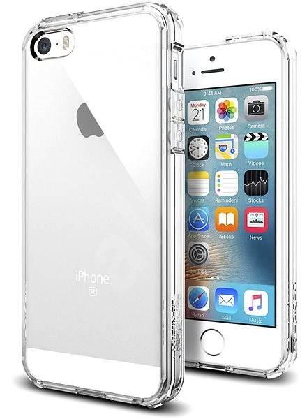SPIGEN Ultra Hybrid Crystal Clear iPhone SE 5s 5 - Kryt na mobil ... e0209ebcaa0