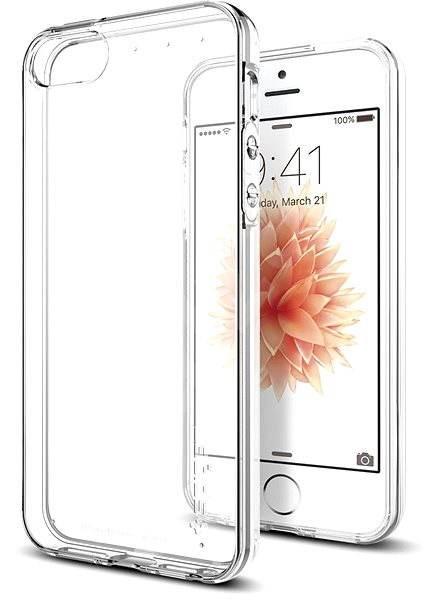 SPIGEN Liquid Crystal iPhone SE/5s/5 - Kryt na mobil