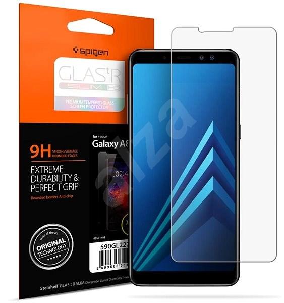 Spigen Glas.tR SLIM HD Samsung Galaxy A8(2018) - Ochranné sklo