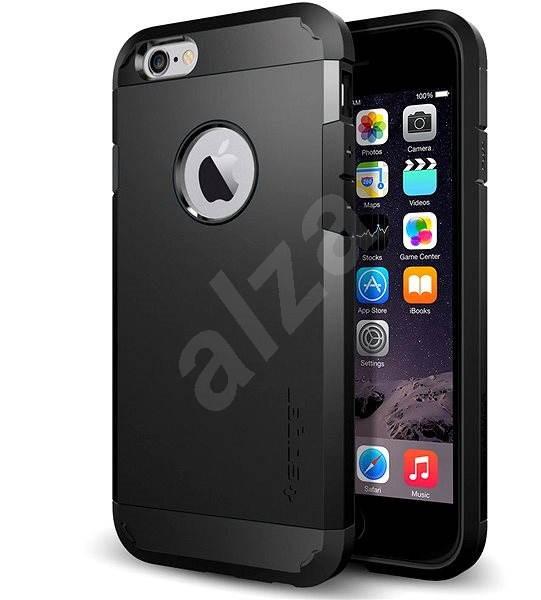 SPIGEN Tough Armor Gunmetal iPhone 6/6S - Kryt na mobil