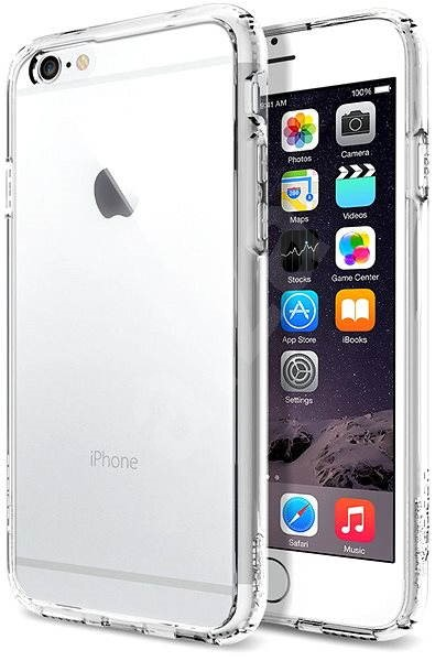 SPIGEN Ultra Hybrid Crystal Clear iPhone 6/6S - Kryt na mobil