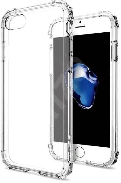 Spigen Crystal Shell Clear crystal iPhone 7/8 - Kryt na mobil
