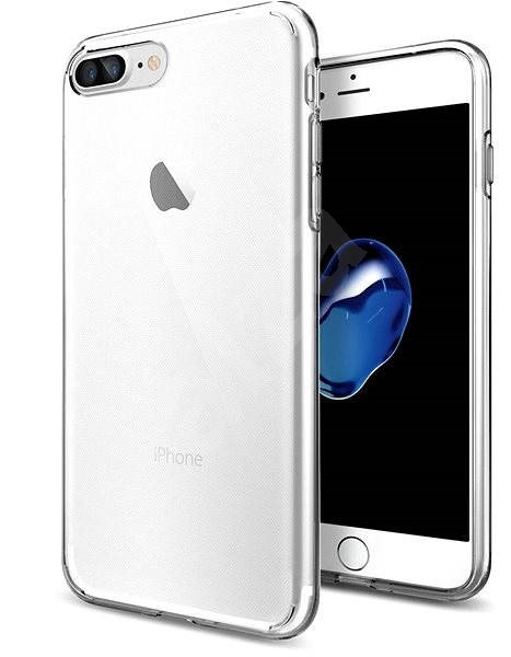Spigen Liquid Crystal iPhone 7 Plus /8 Plus - Kryt na mobil