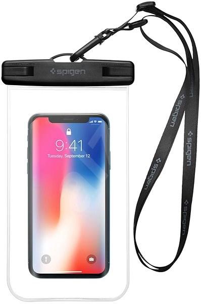 Spigen Velo A600 Waterproof Phone Case Clear - Pouzdro na mobil