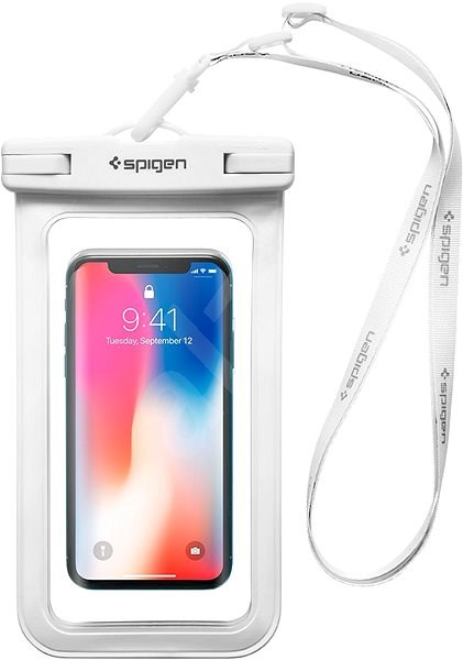 Spigen Velo A600 Waterproof Phone Case White - Pouzdro na mobil