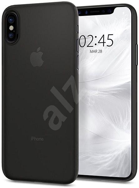 Spigen Air Skin Black iPhone X XS - Kryt na mobil 16c4b2d8f72