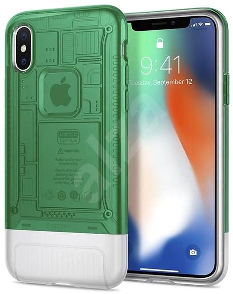 Spigen Classic C1 Sage iPhone X/XS - Kryt na mobil