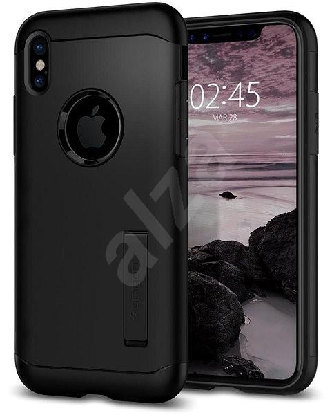 Spigen Slim Armor Black iPhone X - Ochranný kryt  b4a8947dec3