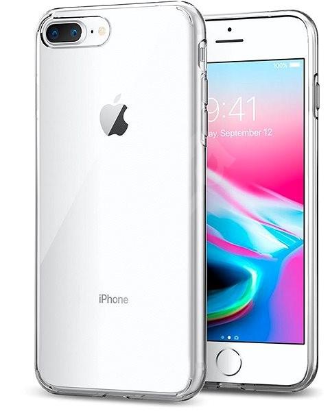 Spigen Liquid Crystal Clear iPhone 7/8 Plus - Kryt na mobil