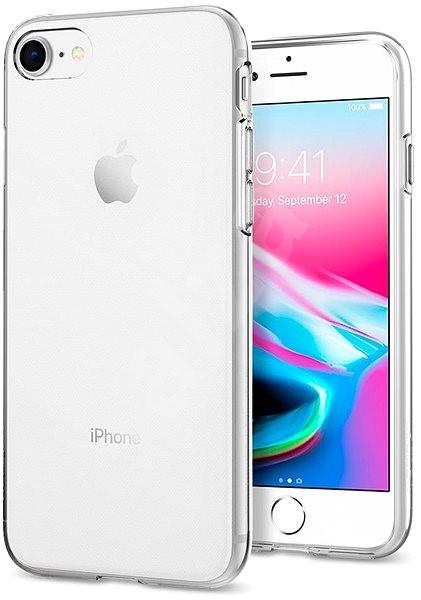 Spigen Liquid Crystal Clear iPhone 7/ 8 - Kryt na mobil