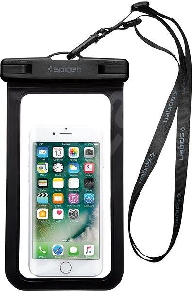 Spigen Velo A600 Waterproof Phone Case Black  - Pouzdro na mobil