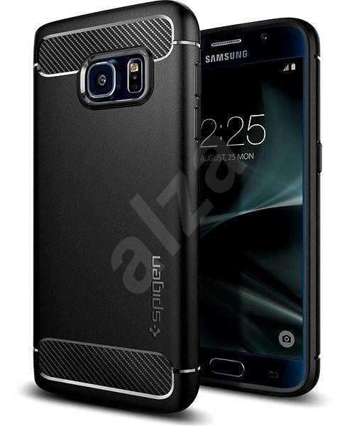 SPIGEN Rugged Armor Black Samsung Galaxy S7 - Kryt na mobil