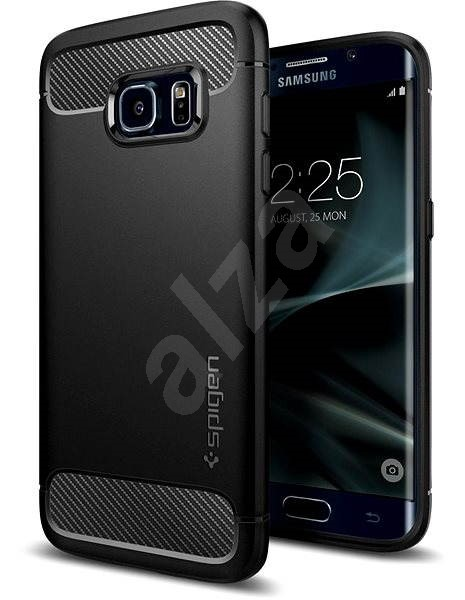 SPIGEN Rugged Armor Black Samsung Galaxy S7 Edge - Kryt na mobil ... 8f3cc666833