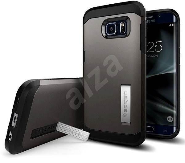 SPIGEN Tough Armor Gunmetal Samsung Galaxy S7 Edge - Ochranný kryt ... c2bf7171deb