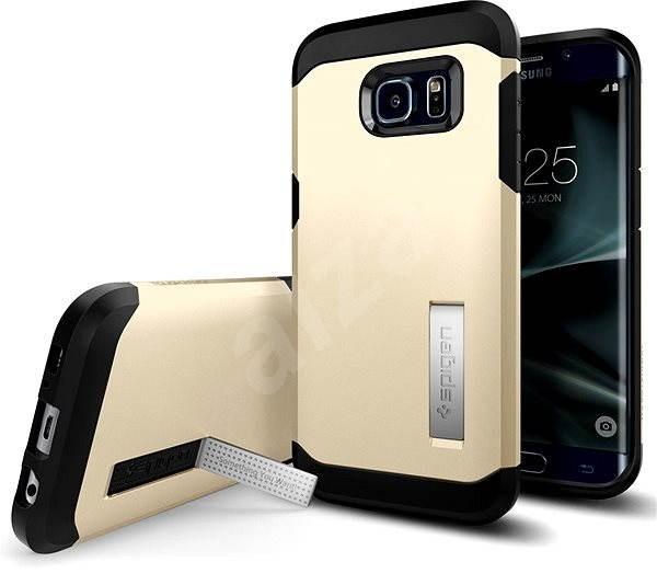 SPIGEN Tough Armor Gold Samsung Galaxy S7 Edge - Ochranný kryt  353132b20d8