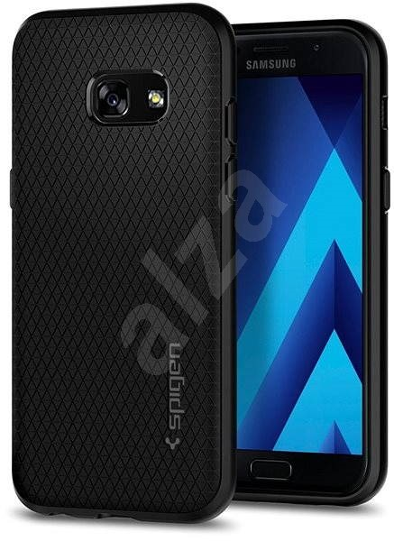 Spigen Liquid Air Black Samsung Galaxy A3 (2017) - Kryt na mobil