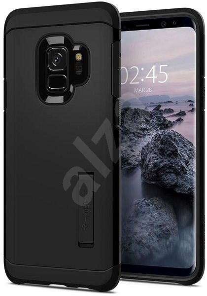 Spigen Tough Armor Black Samsung Galaxy S9 - Ochranný kryt  f4dc4a2683a