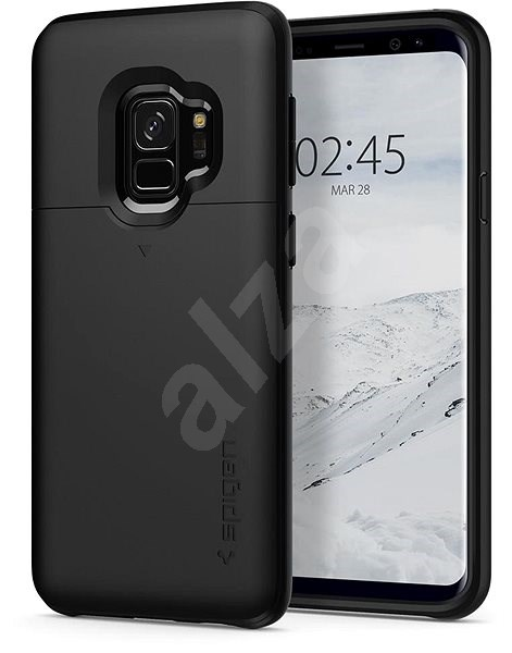 Spigen Slim Armor CS Black Samsung Galaxy S9 - Ochranný kryt