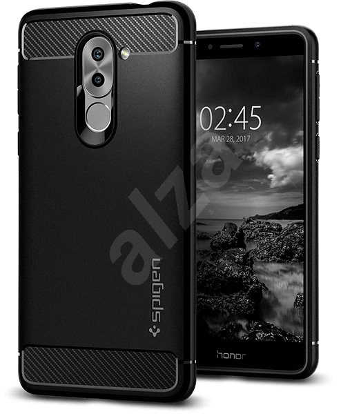 Spigen Rugged Armor Black Honor 6X - Kryt na mobil